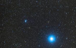 двойная звезда в Лире