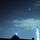 Венера и Плеяды на небе в первой половине июля 2017 года