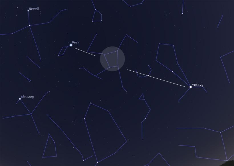 созвездие Геркулеса