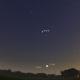 Заканчивается вечерняя видимость Юпитера