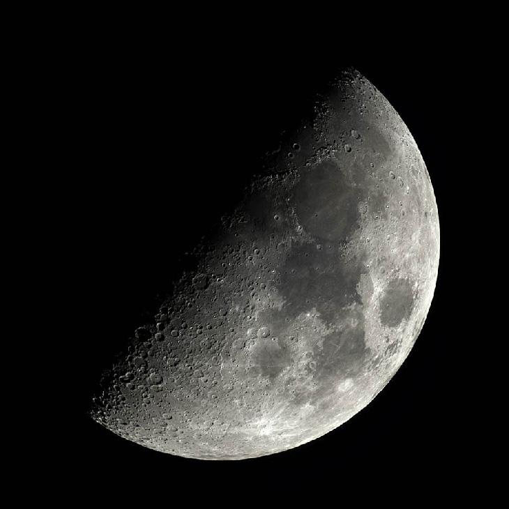 первая четверть фаза Луны