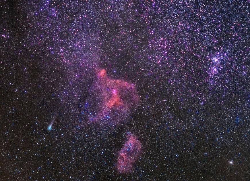 туманности в созвездии Кассиопеи