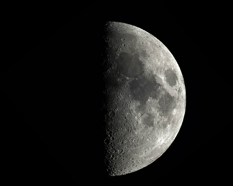 луна первая четверть