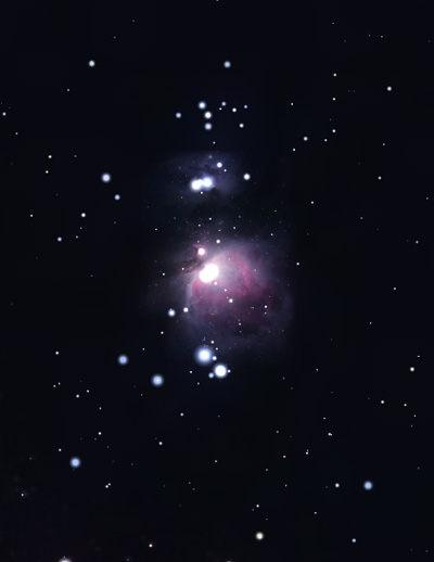 м42 в орионе