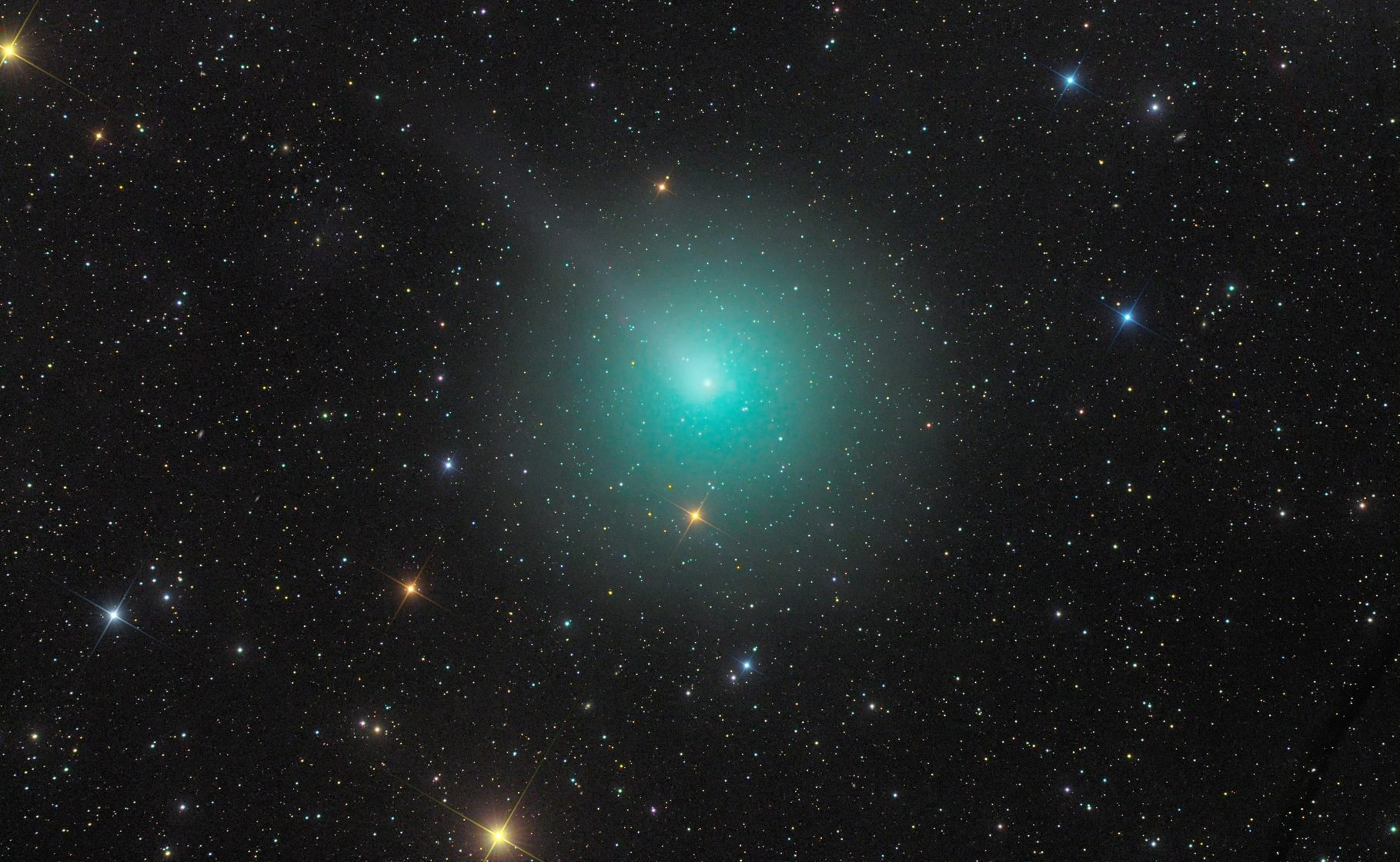 комета 46p Wirtanen