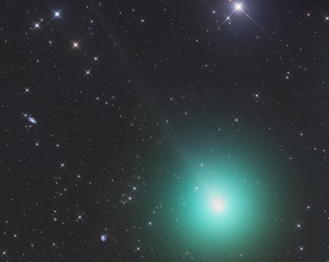 комета Виртанена в декабре 2018 года
