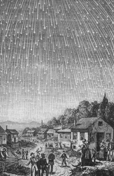 метеорный дождь леониды 1833 года