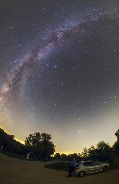 Млечный Путь в августе