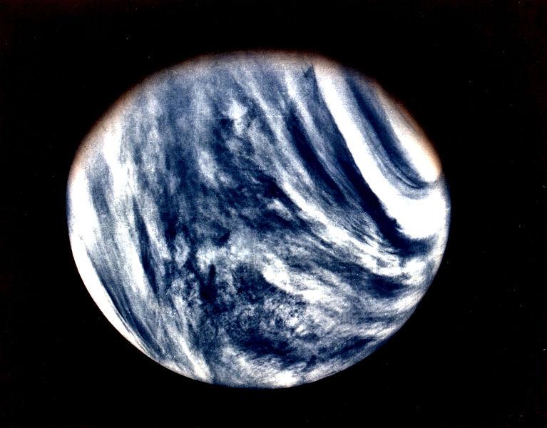 Облачный покров Венеры