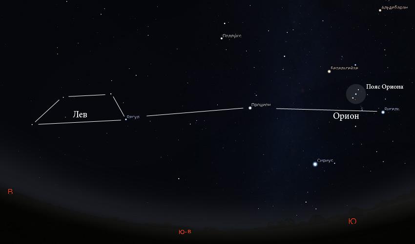 астеризм трапеция