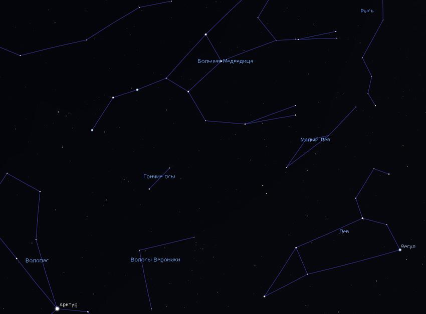 созвездие Гончих Псов