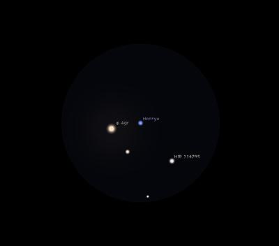 Нептун в сентябре 2019 года