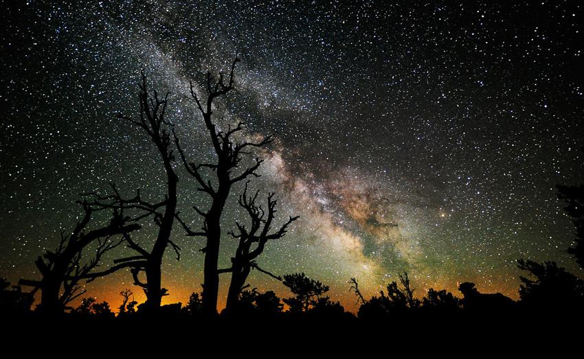 Млечный Путь летом