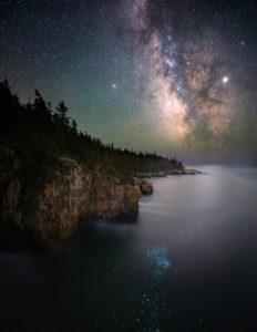 Млечный Путь на летнем небе
