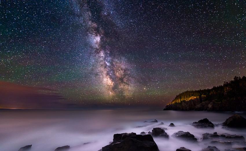 как найти Млечный Путь на небе
