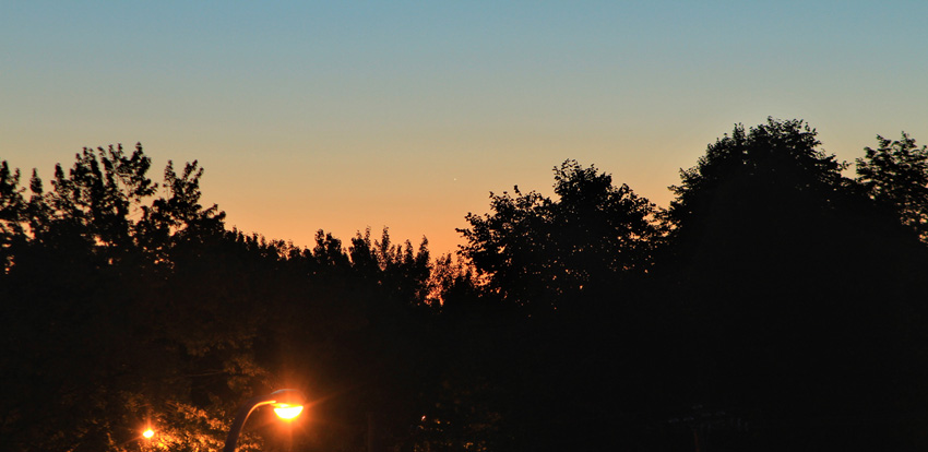 планета Меркурий в августе