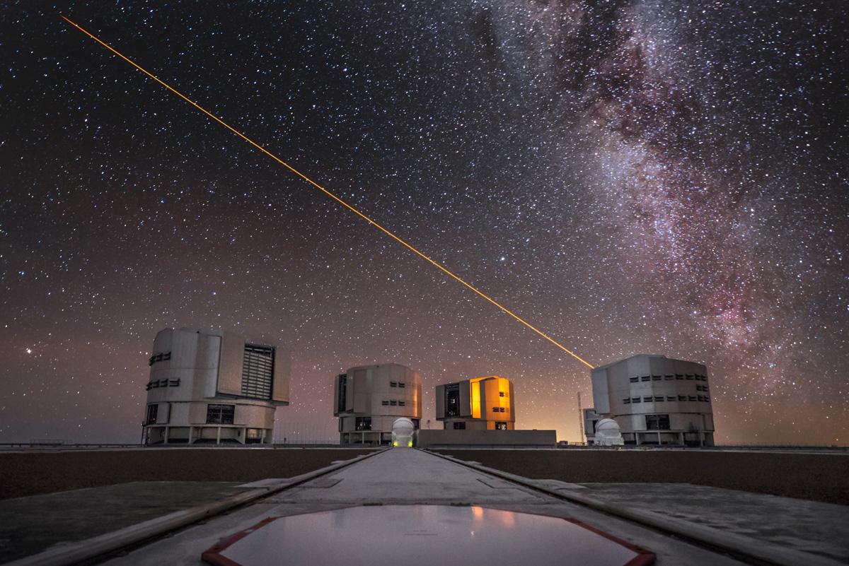 телескопы Европейской южной обсерватории