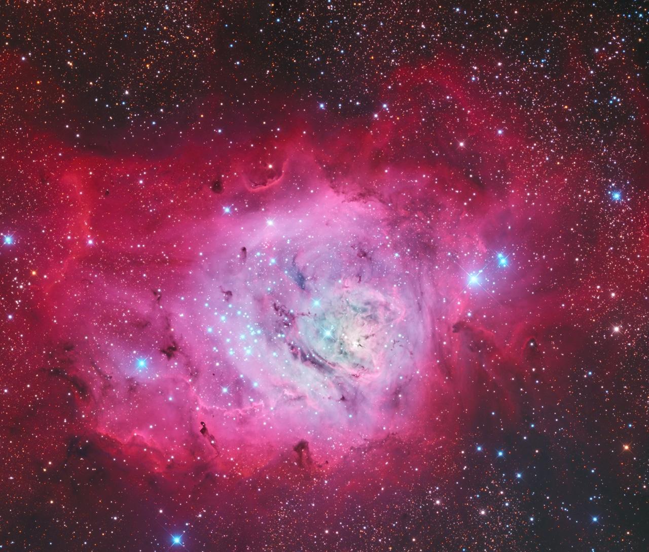 звездное небо в сентябре 2019 года. Лагуна
