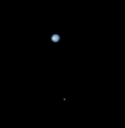 Нептун в телескоп