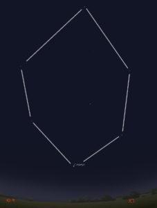 зимний шестиугольник в москве