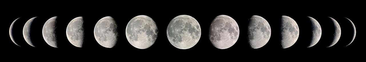 цикл лунных фаз