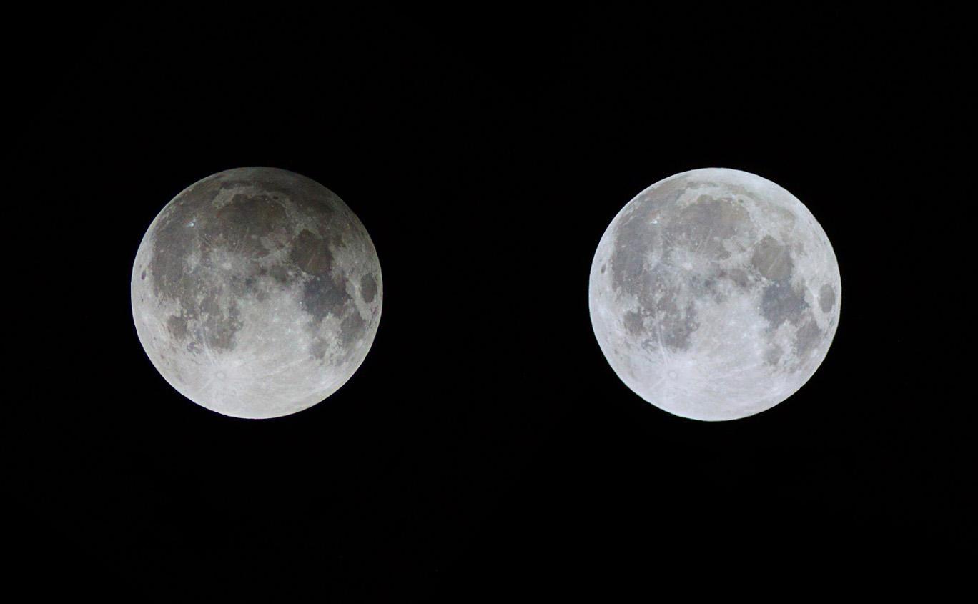 полутеневое затмение луны