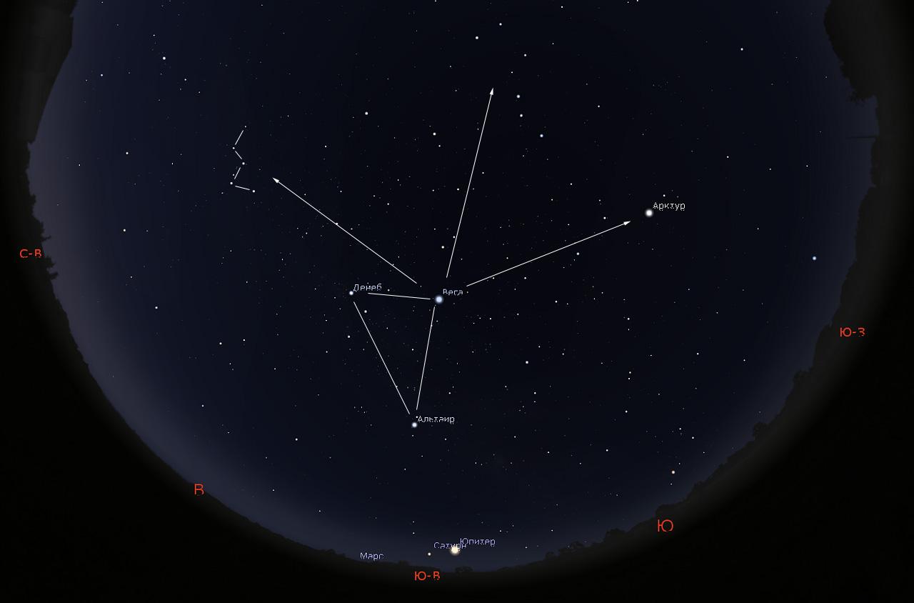 как наблюдать метеорный поток лириды