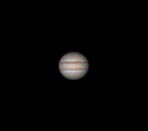 Юпитер в телескоп