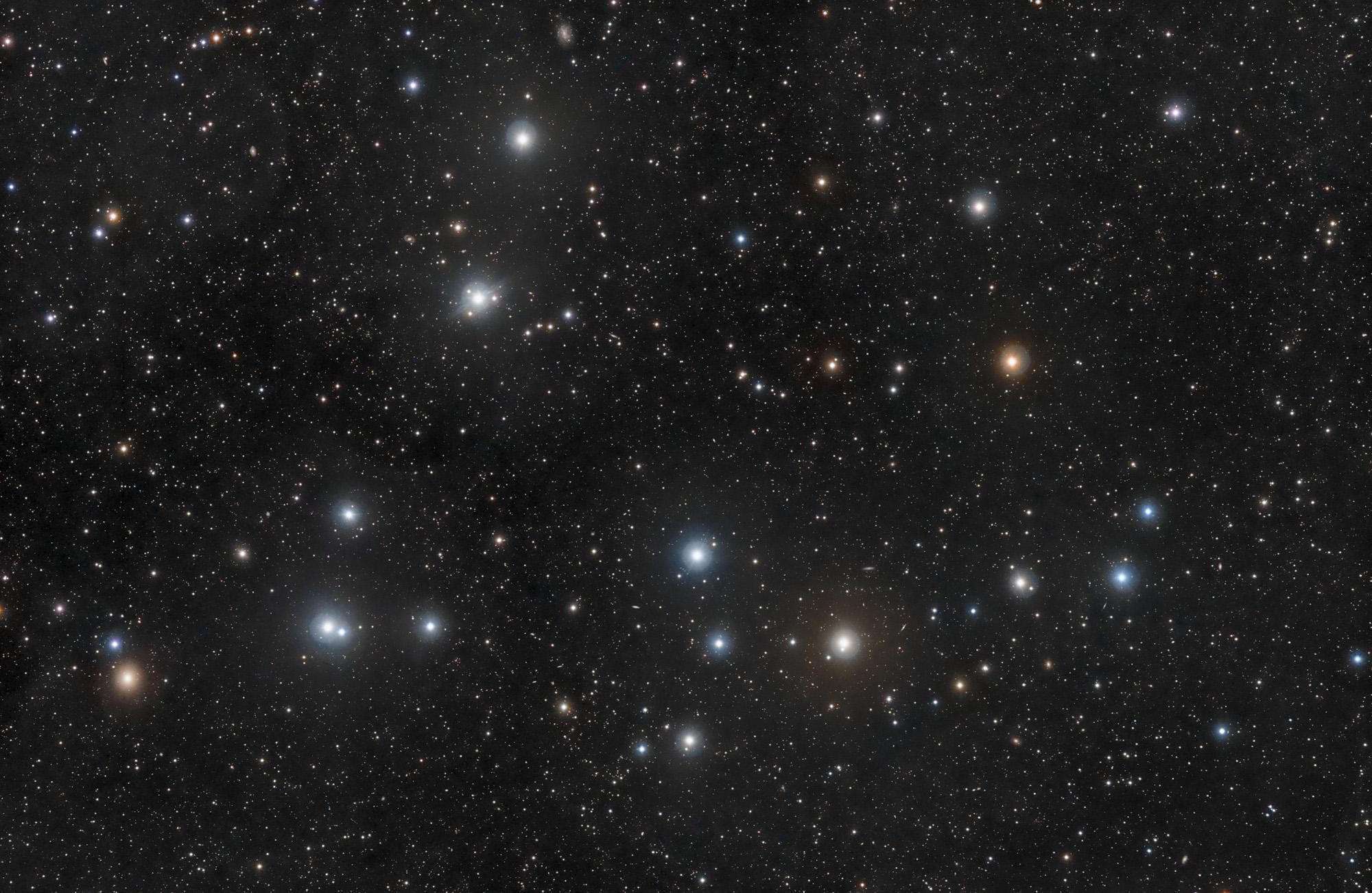звездное скопление Волос Вероники