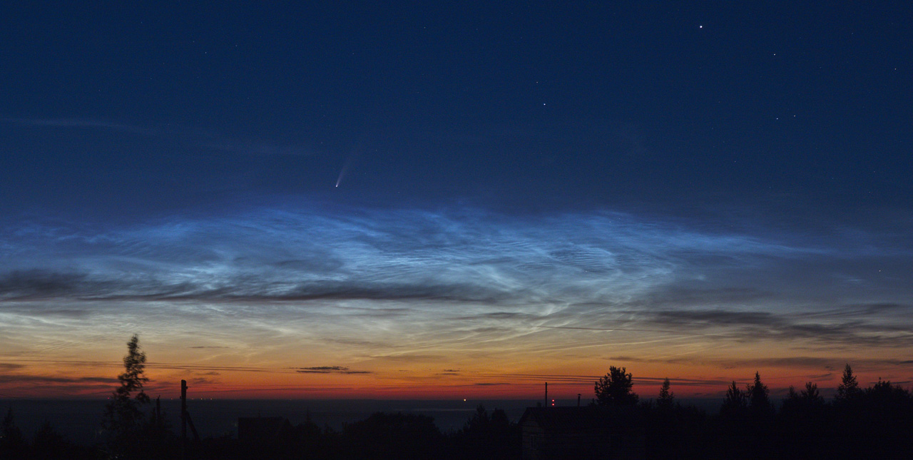 комета в июле 2020 года