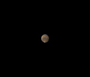 Марс в телескоп