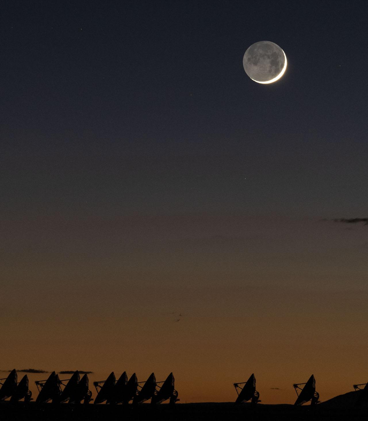 что такое пепельный свет луны
