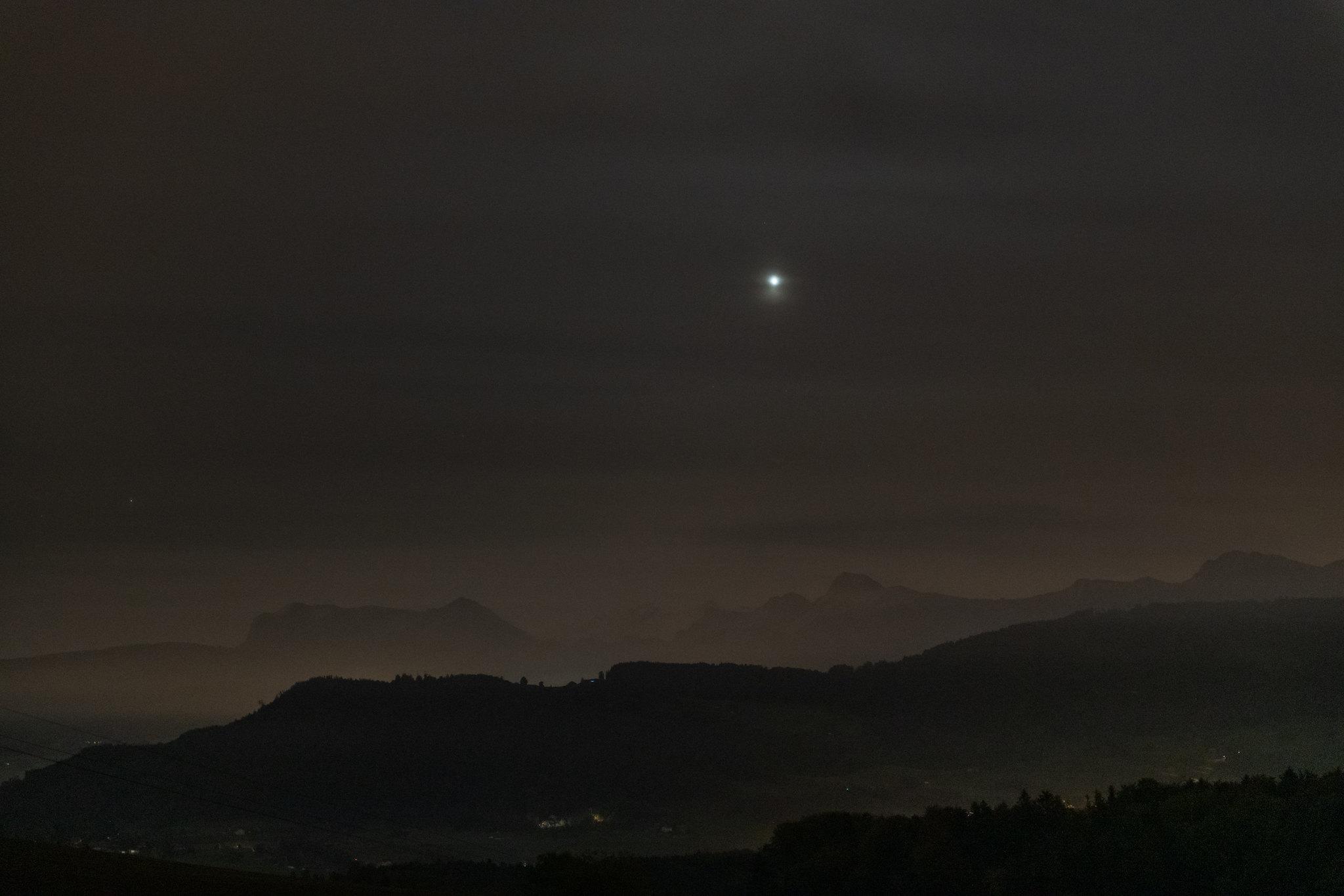 Венера в ноябре 2020 года