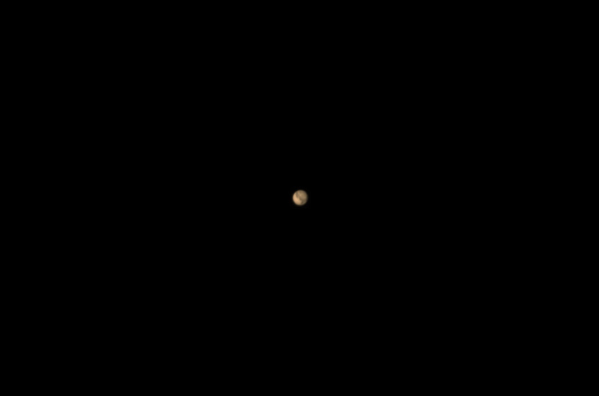 Марс в любительский телескоп